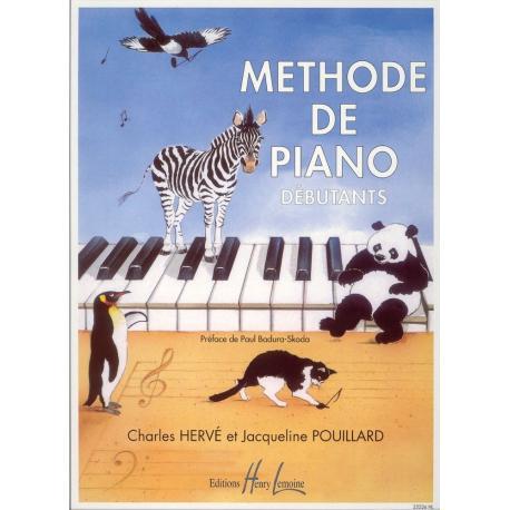 MÉTHODES LEMOINE MÉTHODE DE PIANO DÉBUTANTS