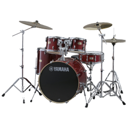 "YAMAHA JSBP2F5CR6W - STAGE CUSTOM BIRCH FUSION 20"" CRANBERRY RED"