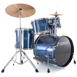 "SONOR SMF11 - SMART FORCE STAGE 1 ROCK 22"" BRUSHED BLUE"