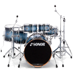 "SONOR SEF11 - SELECT FORCE STAGE S STANDARD 22"" BLUE GALAXY SPARKLE"