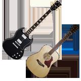 bon plan guitare fete de la musique, promotion speciale guitare fete de la musique