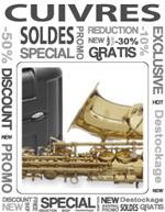 les soldes d'iver scotto musique rayon cuivre