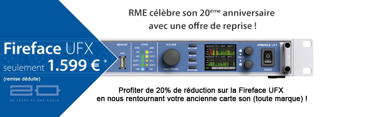 Promo RME Fireface UFX