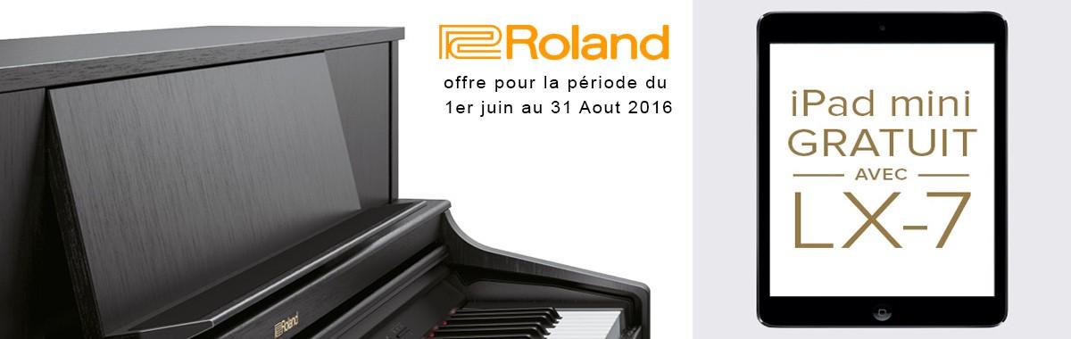 LX 7 Roland - Ipad Mini Apple