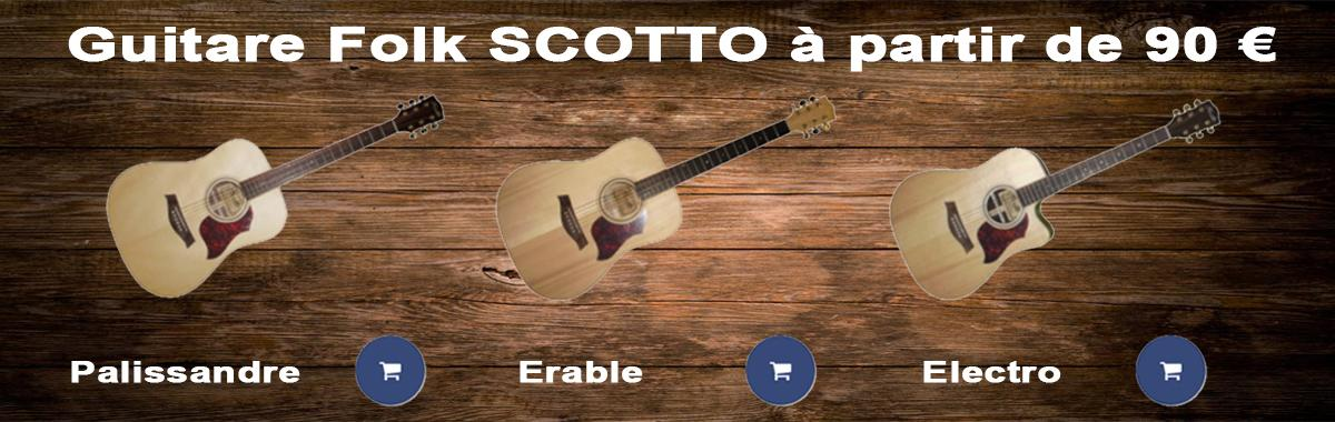 Guitare Folk Scotto
